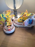 "Customised Crystal Children's Converse ""In The Night Garden"""