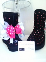 Customised Crystal Children's Classic Uggs