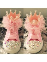 "1 Customised Children's Converse ""Queen"""