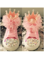 "1 Customised Adult's Converse ""Queen"""