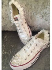 Customised Adult's Crystal 2016 Wedding Converse