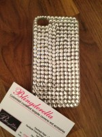 "Customised iPhone Case ""Clear Crystal"""