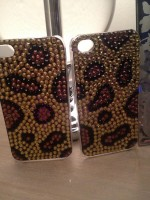 "Customised iPhone Case ""Leopard"""