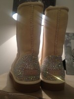 Customised Crystal Adult's Tall Uggs