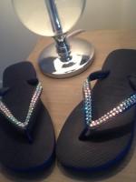 Customised Crystal 2 Tone Havaianas