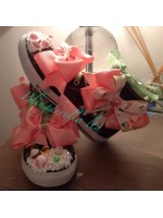 "Customised Crystal Children's Converse ""Cupcake Dreams"""