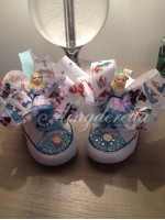 """Customised Crystal Children's Converse """"Alice"""""""