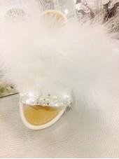 Blingderella Exclusive Sliders Pearl & Crystal