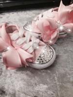 "Customised Crystal Converse Crib  ""Tickled Pink"""