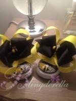 """Customised Crystal Children's Converse """"Bumble Bee"""""""