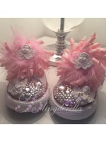 "Customised Crystal Children's Converse ""Cherubs with Dirty Faces"""