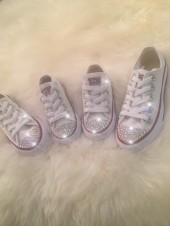 """Customised Adult's Converse """"Courtneys"""""""