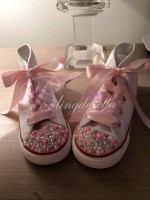"""Customised Crystal Children's Converse """"Crystal Mix Up"""""""