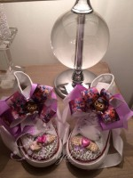 "Customised Crystal Children's Converse ""Doc Mcs"""