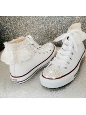 """Customised Children's Converse """"Frill Converse"""""""