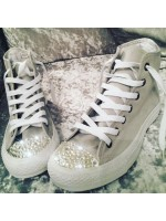 "1 Customised Adult's Converse ""Mono Grey Exclusive"""