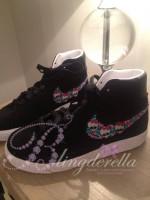 Customised Crystal Children's Nike Blazers - Monster High