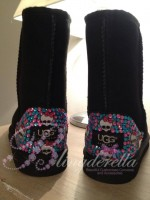 Customised Crystal Children's Monster High Uggs