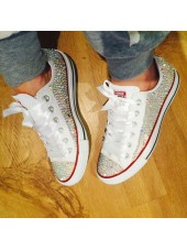 NEW All Crystal Converse