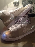 "Customised Crystal Children's Nike ""Ultimate Blazers"" - Pick Your Own Colour"