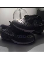 Children's Black Crystal Nike Air Max 2014