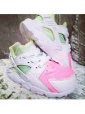 Customised Crystal Infant's Melon Tie Dye Nike Huarache
