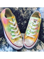 "Customised Children's Converse ""Oilily Part 2"""