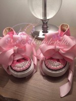 """Customised Crystal Children's Converse """"One Day My Prince Will Come"""""""