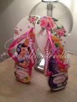 Customised Crystal Kids Princess Havaianas