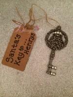 Personalised Christmas Santa's Key