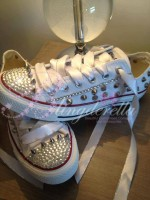Customised Adult's Converse Spikes 2