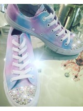 "Customised Adult's Converse ""Sunshine Skies"""