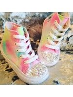 """Customised Children's Converse """"Sweet Clouds"""""""