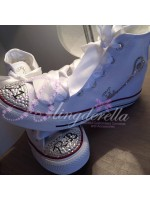 "Customised Adult's Converse ""21"""