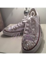"""Customised Crystal Children's Converse """"Twinkle Summer"""""""