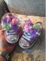 "Customised Children's Converse ""Unicorn Feet"""