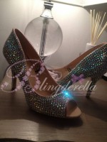 Customised Crystal Adult's Wedding Shoes